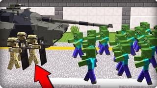 Все идет по плану ЧАСТЬ 72 Зомби апокалипсис в майнкрафт! - (Minecraft - Сериал)