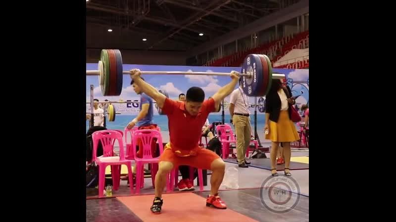 Shi Zhiyong (🇨🇳73) power snatching 140kg