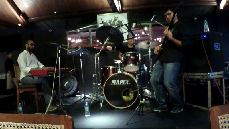 Rhythm a Ning - Thelonious Monk Performed by The Jazztafarians - Live at Baobab, Pune.