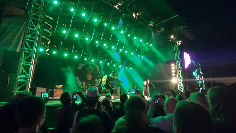 Gogol Bordello Kulturfestivalen в Стокгольме 14 08 2019