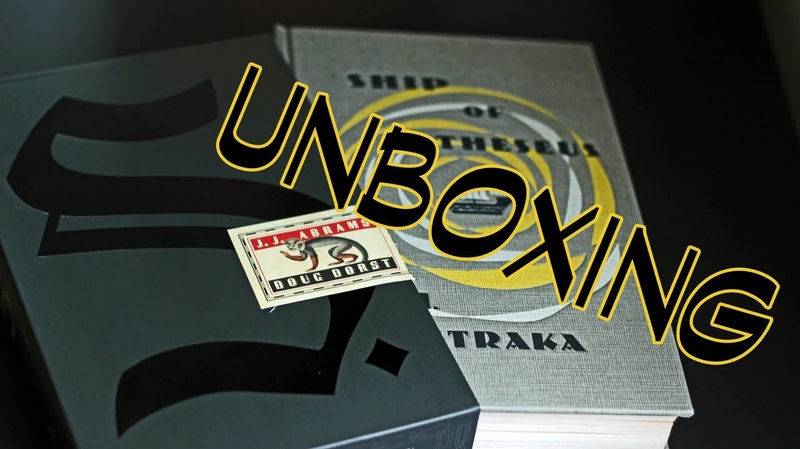 UNBOXING   S. by Doug Dorst and J.J. Abrams