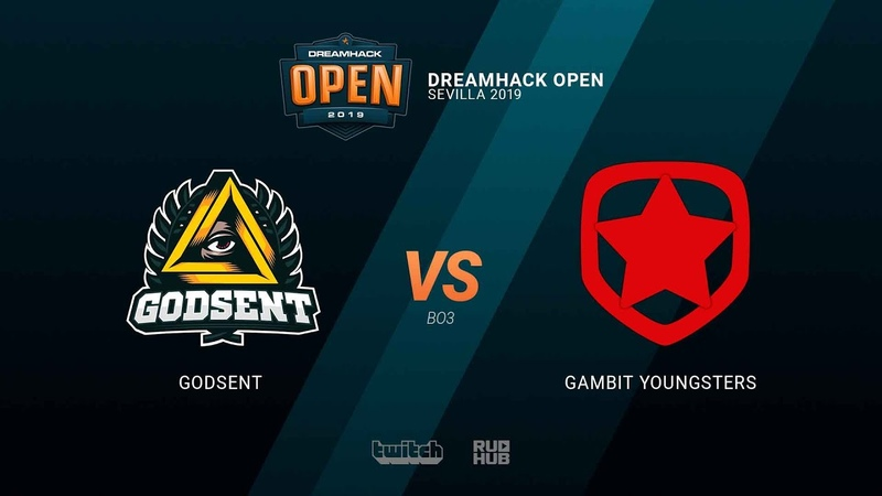 GODSENT vs Gambit Youngsters - DH Open Sevilla 2019 - map3 - de_dust2 [TheCraggy MintGod]