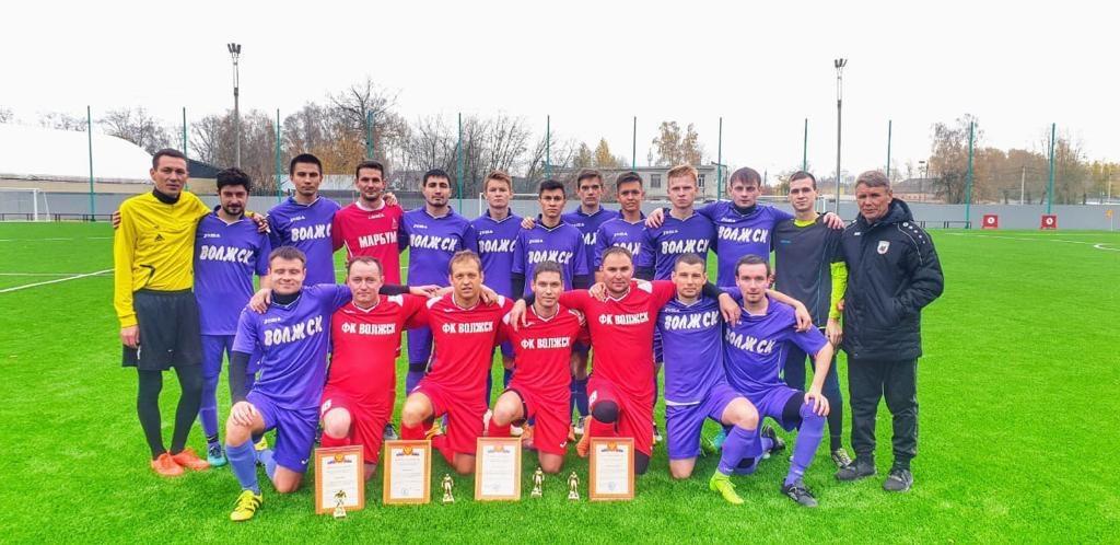 Четыре игрока ФК «Волжск» завершили спортивную карьеру в клубе