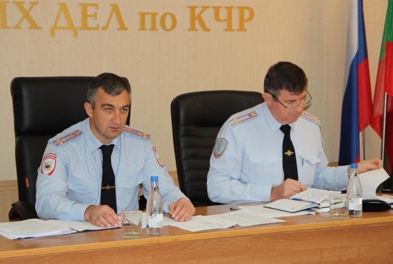 В КЧР оценили эффективность работы отделов МВД