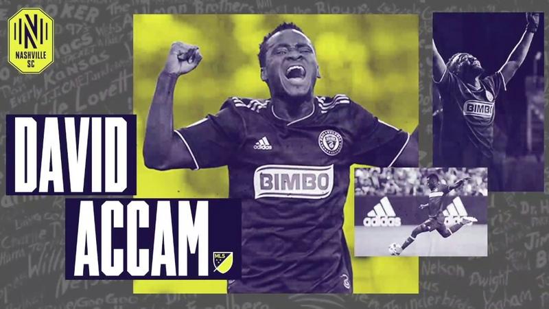Nashville SC acquires MLS winger David Accam in Trade with Columbus Crew SC