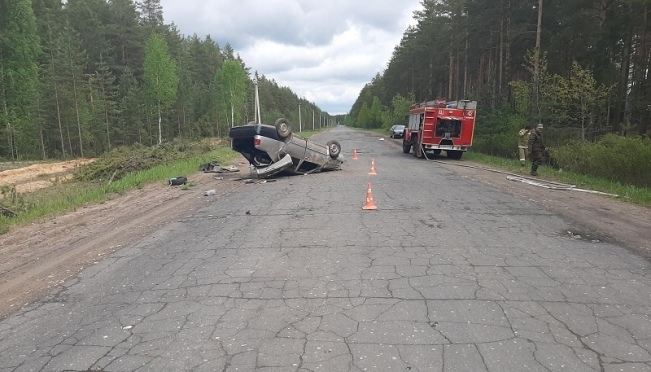В Звениговском районе погиб водитель иномарки