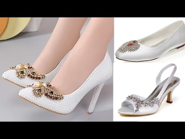 WOMEN WEDDING STILSTTO DESIGN LATEST BRIDAL DRESSES FOOTWEAR SHOES PARTY SANDAL NEW COLLECTION 2020