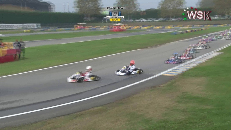 WSK OPEN CUP 2019 ROUND 2 60 MINI FINAL