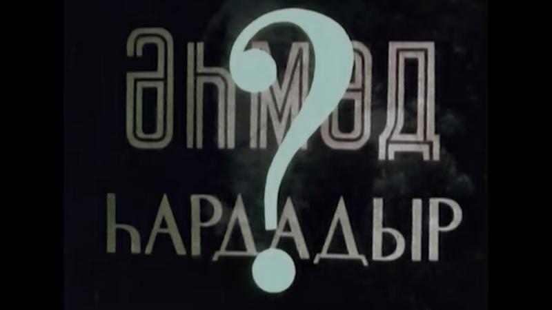 Əhməd haradadır (film, 1963)