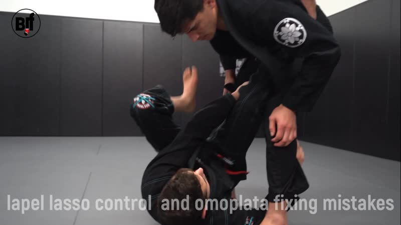 Caio Terra - lapel lasso control and omoplata fixing mistakes