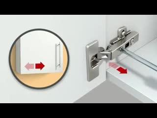 Регулировка дверцы шкафа для чайников