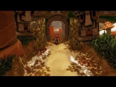 No talking while playing Crash Bandicoot 2 Cortex Strikes Back