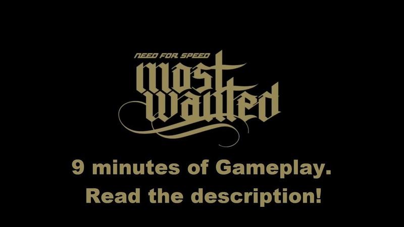 NFS MW 2012 Beta - 9 Minute Gameplay (READ DESCRIPTION)
