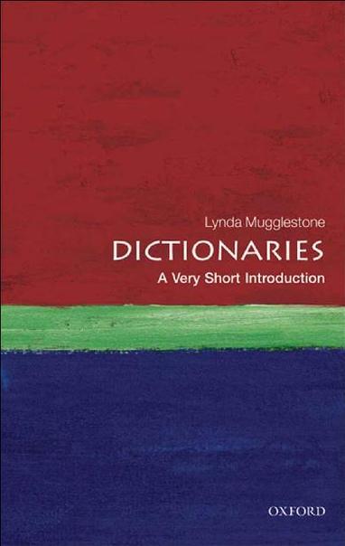 Dictionaries  A Very Short Intr - Lynda Mugglestone