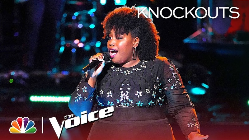 Kymberli Joye Slows Down Zedd's The Middle with Powerful Vocals The Voice 2018 Knockouts