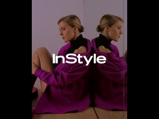 Backstage со съёмки InStyle
