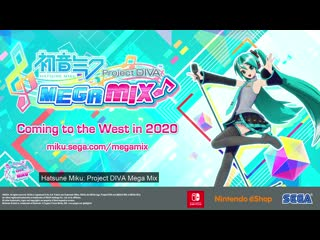 Hatsune Miku: Project DIVA Mega Mix | Announcement Trailer
