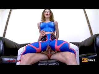 Mia Bandini-Overwatch  cosplay throated and anal creampied