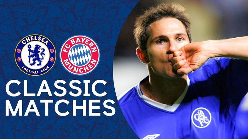Chelsea 4 2 Bayern Munich Lampard Double Sinks Bayern Champions League Classic Highlights