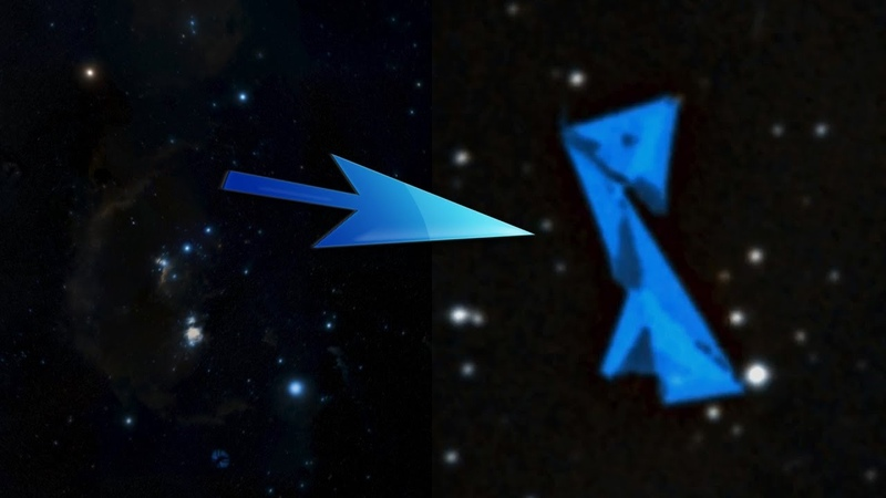 MUST SEE Giant Alien Space Station Found In The Orion Constellation? (Strange News)