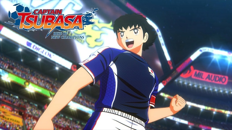 Captain Tsubasa: Rise Of New Champions - Release Date Reveal Trailer - PS4/PC/SWITCH
