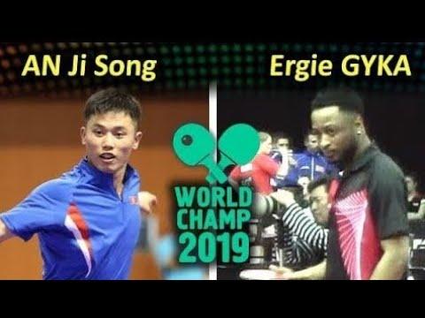AN Ji Song (PRK) - GYKA Ergie (COD) Best Angle Лучший Ракурс