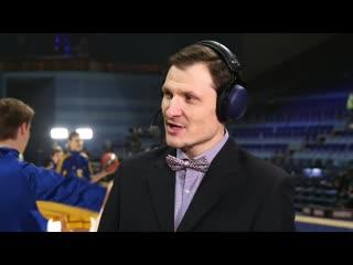 ТВ студия Khimkibasket TV в прямом эфире перед матчем Евролиги Химки - Жальгирис