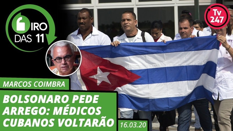 Bolsonaro pede arrego médicos cubanos voltarão Giro das 11 16 03 20