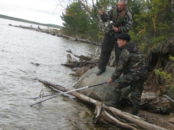 Летняя рыбалка и отдых в Карелии