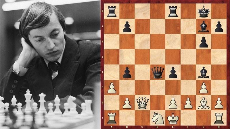 Шахматы Татаи Карпов ЖЕРТВА ПЕШКИ за преимущество в развитии