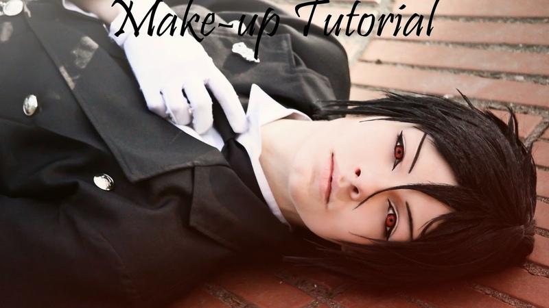 Sebastian Michaelis (Black Butler) Make-up Tutorial