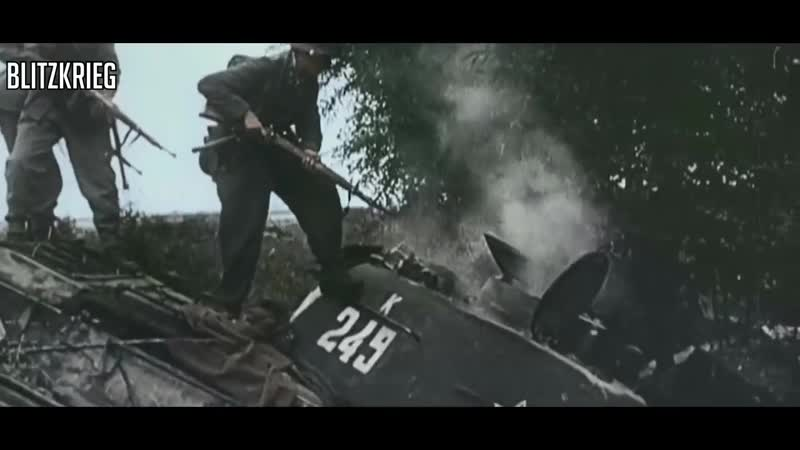 Waffen SS Combat Footage HD Colour