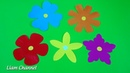 Bỏ túi 5 cách cắt Bông Hoa cực đơn giản Easy paper cutting flower craft Liam Channel