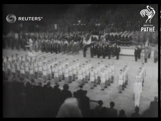 UK: World War 2: Celebrations of first anniversary of Anglo-Soviet alliance (1942)