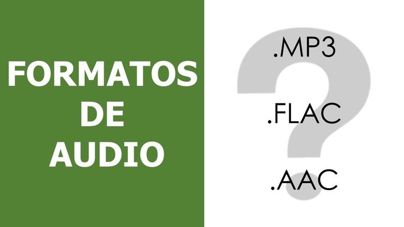 Qué rayos es .mp3 o.flac Formatos de Audio