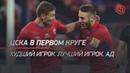 ЦСКА в первом круге Худший игрок Лучший игрок Ад