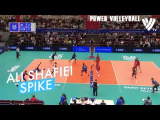 Top 10 best volleyball actions fivb oqt 2019 (hd)