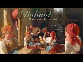 Giovanni Francesco Giuliani_ Nocturnes for Clarinet and Harp
