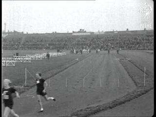 British Girls Win Athletic International (1925)