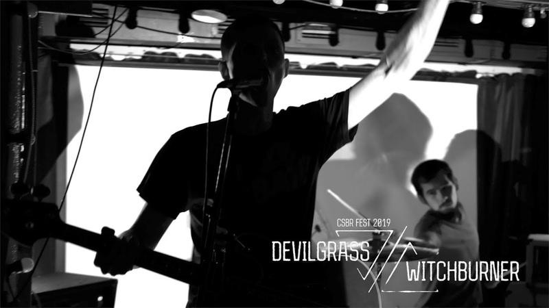 Devilgrass Witchburner live at CSBR Fest 2019