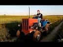 Трактор с дизелем Mersedes 2D опять покатушки Проверяю максималку и тормоза. Гидравлика