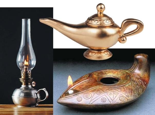 Почему лампа Аладдина похожа на чайник