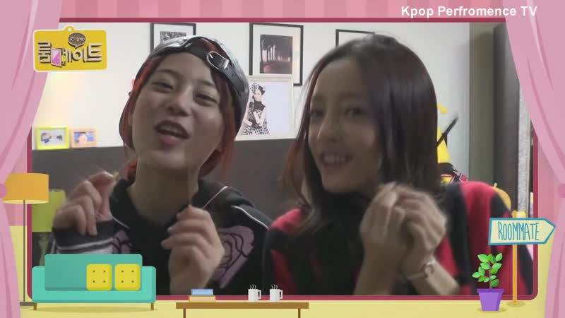 HD KARA Youngji and Hara Gwiyomi @ Roomate S2