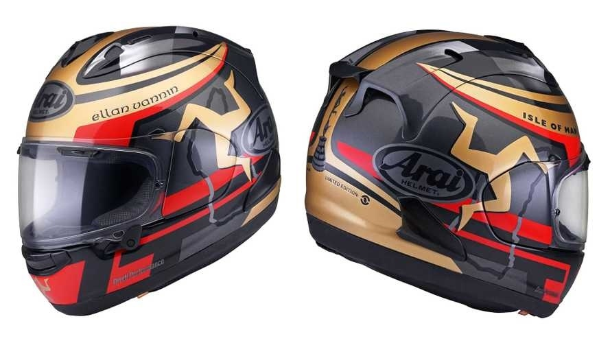 Мотошлем Arai Isle Of Man TT 2020