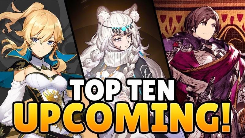 TOP TEN UPCOMING MOBILE GAMES 2019 - 2020!