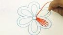 Very easy hand embroidery flower design bordado a mano Bordado de flores bordado mexicano