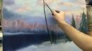 Пишем зиму. Урок живописи маслом для начинающих.