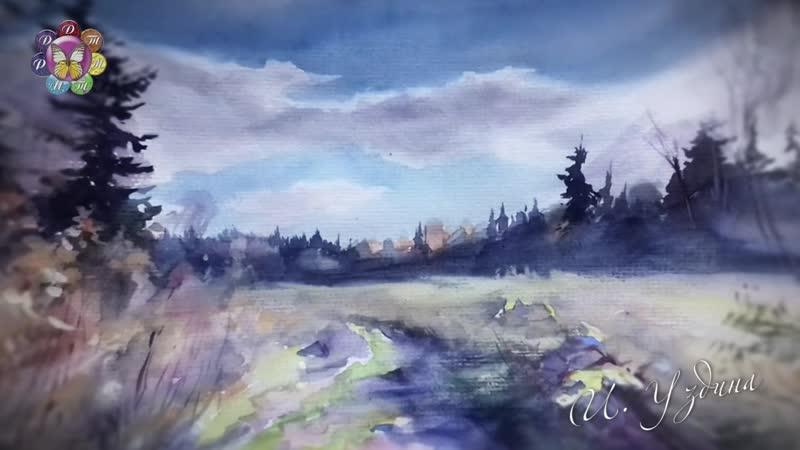 Выставка графических работ Ирины Уздиной