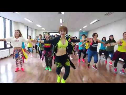 Reggaeton/Clean Bandit ft. Sean Paul Anne-Maria - Rockabye(Moshe Buskila Remix) / Zumba Korea TV