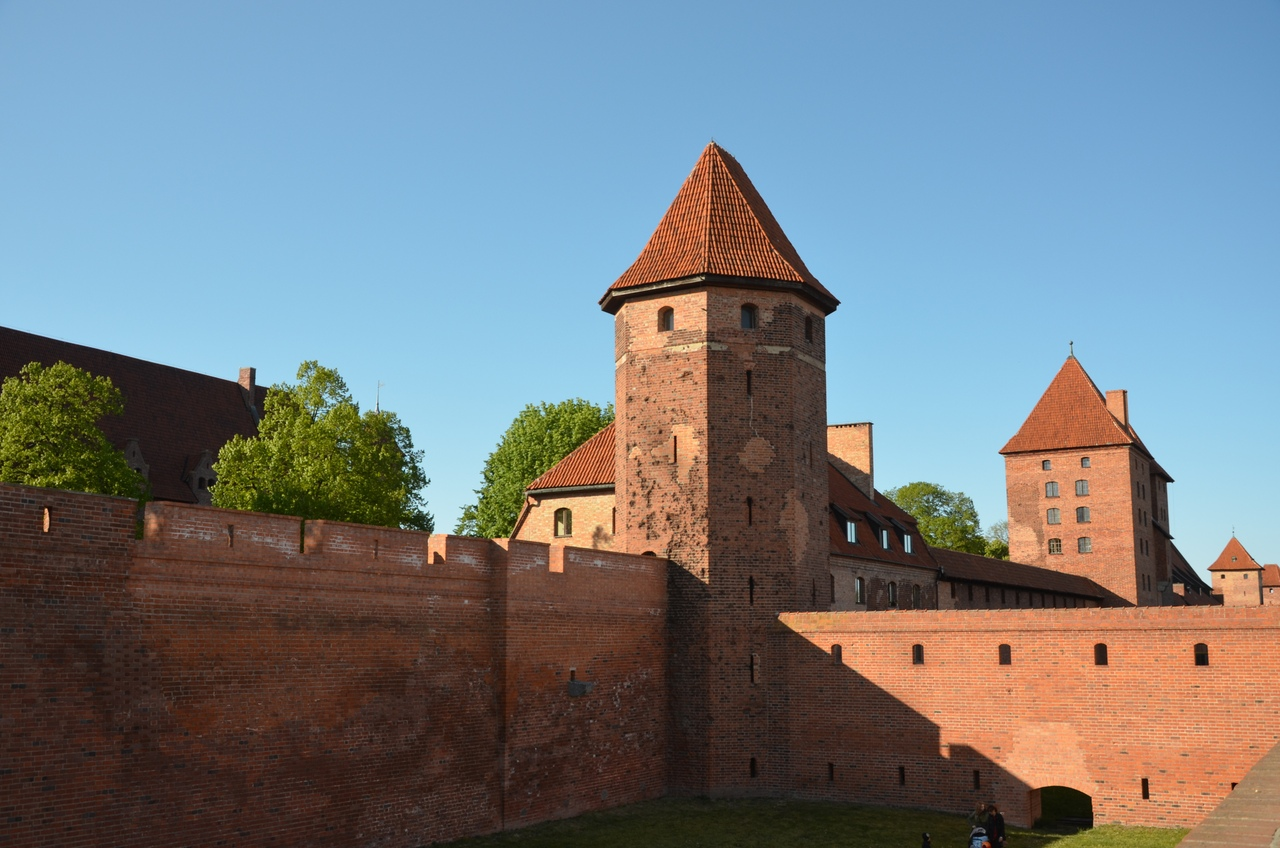 2OT25J9CEd4 Мальборк - столица рыцарей в Польше.